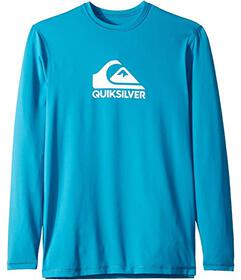 Quiksilver Kids Solid Streak Long Sleeve Surf Tee