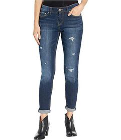 UNIONBAY Marni Ankle Peg Jeans in Stormy Blue