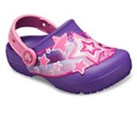 Girls' Crocs Fun Lab Shooting Stars Clog