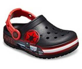 Kids' Crocs Fun Lab Darth Vader Lights Clog