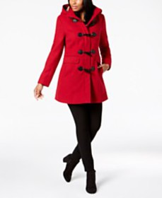 Tommy Hilfiger Hooded Toggle Coat, Created for Mac