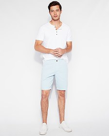 Express classic fit 10 inch garment dyed flat fron