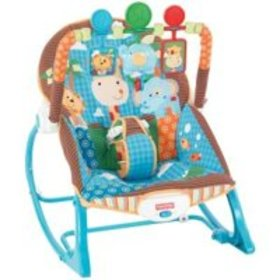 FISHER-PRICE INFANTTOTODDLER ROCKER JUNGLE FUN