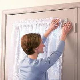 Miracle Rod Clear Magnetic Curtain Rod