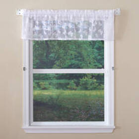 Butterfly Lace Valance Curtain