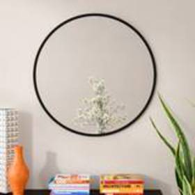 Hub Modern and Contemporary Accent Mirror