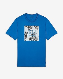 Express EXP nyc graphic crew neck t-shirt