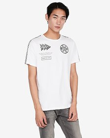 Express jersey crew neck EXP nyc graphic t-shirt