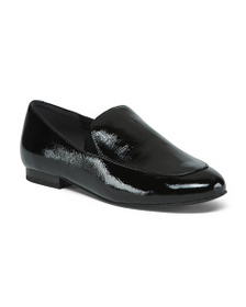 reveal designer Patent Leather Loafers