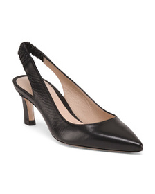 reveal designer Made In Spain Low Pointy Leather H