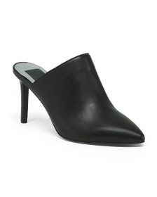 DOLCE VITA Pointy Toe Leather Mules
