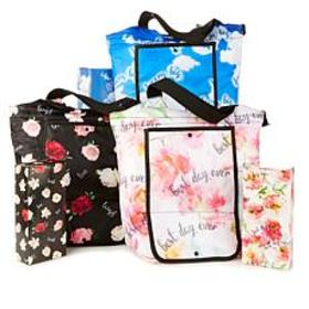 """""""As Is"""" BetterTotes Set of 3 Insulated Foldable Ba"""