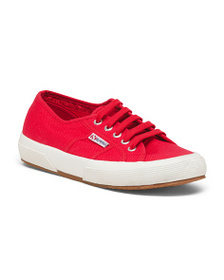 SUPERGA Made In Italy Canvas Sneakers