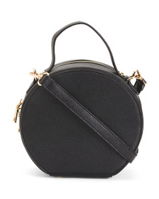 ISABELLE Round Top Handle Crossbody