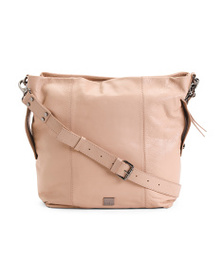 KOOBA Dante Leather Large Double Compartment Hobo
