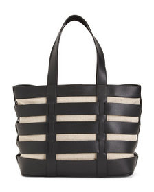 FRENCH CONNECTION Eden Cut Out Tote