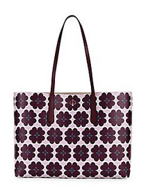 Kate Spade New York Large Molly Perforated Leather