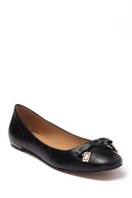 Marc Jacobs Sophie Leather Ballerina Flat
