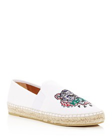 Kenzo - Women's City Tiger Embroidered Espadrille