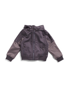 REEBOK Little Boys Hooded Soft Shell Jacket