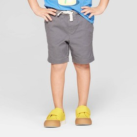 Toddler Boys' Stretch Twill Pull-On Shorts - Cat &