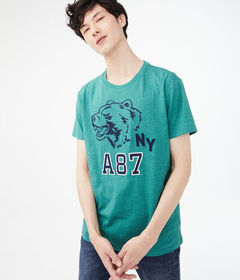 Aeropostale A87 Bear Graphic Tee