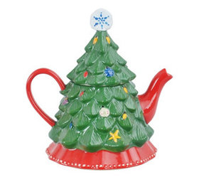 """""""As Is"""" Temp-tations Winter Whimsy Teapot - H22229"""