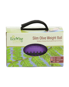 ECOWISE 4lb Football Weight With Super Grip