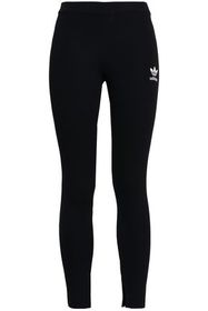 ADIDAS ORIGINALS Striped stretch-jersey leggings