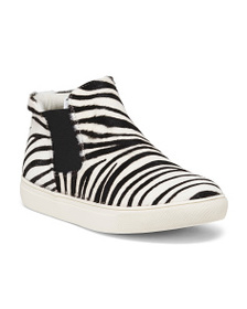 COCONUTS Slip On Haircalf Sneaker Booties
