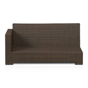 Crate Barrel Ventura Umber Modular Left Arm Lovese