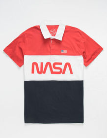 NEON RIOT NASA Mens Polo Shirt_