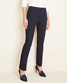 The High Rise Ankle Pant in Cotton Twill