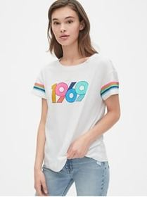 Authentic Relaxed Graphic Crewneck T-Shirt