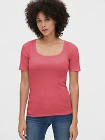 Featherweight Square-Neck T-Shirt