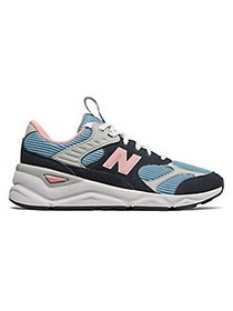 New Balance Women's X-90 Patchwork Mesh & Suede Sn