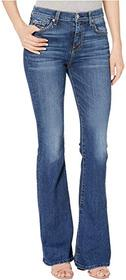7 For All Mankind High Waist Ali in Blue Monday