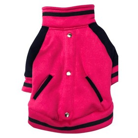 Royal Animals Dog Hoodie - Pink