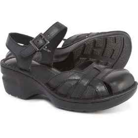 b.o.c Maple Clogs - Leather (For Women) in Black L