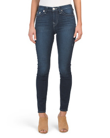 TRUE RELIGION High Rise Halle Skinny Jeans