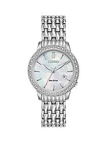 Citizen Eco-Drive Stainless Steel Diamond Watch SI