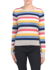 C&C CALIFORNIA Cashmere Striped Sweater