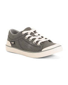 TEVA Lace Up Canvas Sneakers