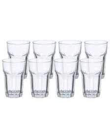 Pfaltzgraff Clear Set of 8 Highball Glasses