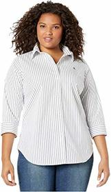 LAUREN Ralph Lauren Plus Size Non-Iron Button-Down