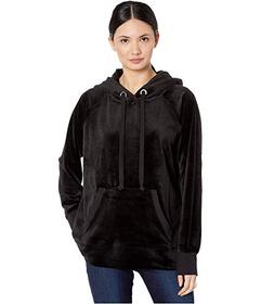 Juicy Couture Track Luxe Velour Hooded Pullover