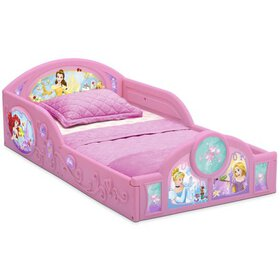 Disney Princess Plastic Sleep and Play Toddler Bed