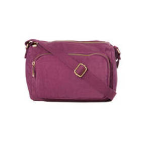 Bueno Nylon Small Top Zip Camera Crossbody