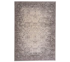 Pottery Barn Clover Tufted Rug - Charcoal