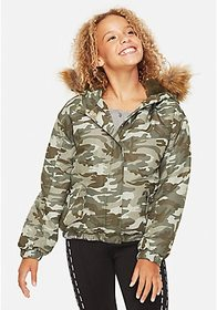 Justice Girls Cropped Parka